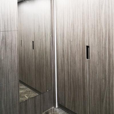 closet con espejo